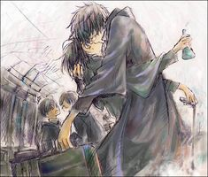 Photo of James x Severus ~<3 for fans of Seuris.