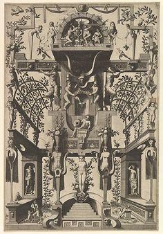 Johannes van Doetecum the elder (Netherlandish, active 1554–ca. 1600, died 1605) Grotesque Decoration