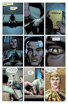 Doomsday clock #4 Comics Online, Dc Comics, Doomsday Clock, Comic Art, Marvel, Watches, Colors, Board, Inspiration