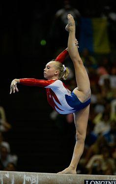 """ Never-Ending List of Favorite Gymnasts Hollie Vise, USA "" Gymnastics Moves, Gymnastics Flexibility, Amazing Gymnastics, Acrobatic Gymnastics, Gymnastics Pictures, Sport Gymnastics, Artistic Gymnastics, Olympic Gymnastics, Gymnastics Problems"