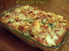 Ingredients : 3 pounds chicken breasts (cooked & cut into bite size pieces) 6 Italian sausage links 2 jars or spaghetti sauce (I use Hunt's in the can – cheaper & just as good!) 1 pound of pasta, penne,
