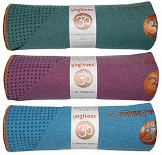 Yogitoes Skidless Towel: Skip those yoga socks and gloves, and keep your friend from slipping off the mat with a yogitoes Skidless Mat Towel (starting at $64). Made of highly absorbent microfiber with comfortable nubs that provide traction and grip, you can be sure that there will be no slipping out of Downward Dog.