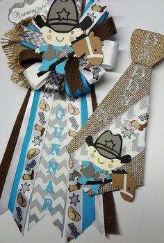 Daddy pin cowboy corsage western corsage by fourDOLLYSboutique