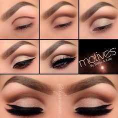 10 Cut Crease Make-up-Ideen Eyeliner, , Cat Eye Makeup, Simple Eye Makeup, Eye Makeup Tips, Pretty Makeup, Skin Makeup, Makeup Ideas, Eyeliner Makeup, Weird Makeup, Makeup Hacks