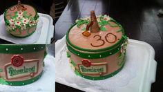 dort - soudek Pilsner Urquell / cake - keg of Pilsner Urquell