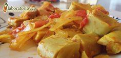 Seitan al Curry agrodolce