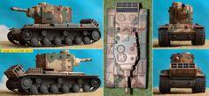 Beutepanzer KV II / Sd.Kfz.754(r) (Trumpeter EasyModel 36287) 1:72