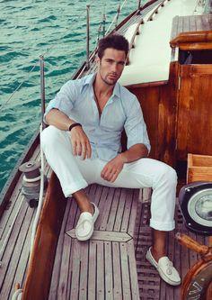 Goran Jurenec by Anna Gunselmann Yacht Fashion, Boat Fashion, Nautical Fashion, Men's Fashion, Kids Fashion, Yacht Mode, Segel Outfit, Ibiza, Men Photoshoot