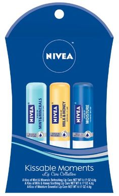 Beiersdorf Nivea Lip Care