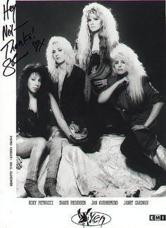 Drawing Down The Moon, Heavy Metal Girl, Women Of Rock, Girl Bands, Glam Rock, Vixen, Hard Rock, Hair Band, Rock N Roll
