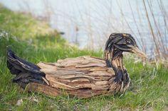 Driftwood Loon by Jennifer Szczyrbak, Moose Lake, Mn