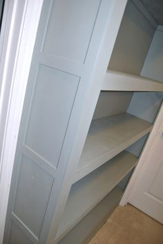 Built In Bookcase Tutorial