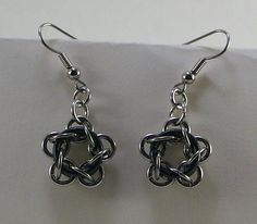 Chainmaille Earrings   Flickr - Photo Sharing!
