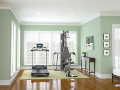 Home Gym - If you're sitting down most of the day, browsing the internet, laughing at things on Facebook and of course sending the odd work related email – then you probably need to do some exercise (no judgement, just an observation). Within the room, or even the space that your desk was previously, there is potential home for a treadmill, a rower, or even some weights.