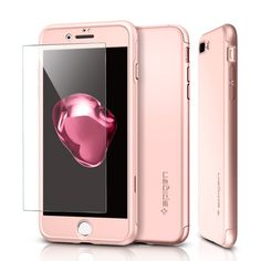 Spigen Air Fit 360 Θήκη Πλήρους Προστασίας iPhone 7 Plus & Tempered Glass - Rose Gold  Η Spigen καινοτομεί με τη νέα θήκη Air Fit 360 που παρέχει πλήρη προστασία στο αγαπημένο σας iPhone 7 Plus, ενάντια στις πτώσεις και τα χτυπήματα! https://www.uniqueshop.gr/thiki-air-fit-360-full-protection-iphone-7-plus-rs-gld.html