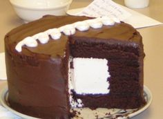Giant Hostess cupcake