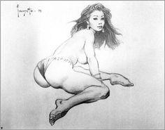 AMAZING Frazetta sketch I've never seen before. http://www.MarkLipka.com