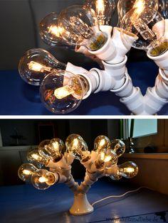 DIY Korallenlampe / DIY #coral lamp for #beginners - by #duftundliebe