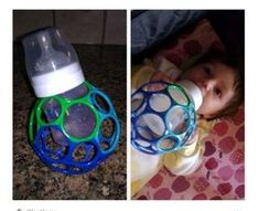 49 Amazing Dollar Store Hacks To Save Parents Time and Money DIY Babyflaschenhalter Mehr Baby Bottle Holders, Diy Bottle, Baby Tips, Kids And Parenting, Parenting Hacks, Parenting Websites, Funny Parenting, Single Parenting, Baby Toys