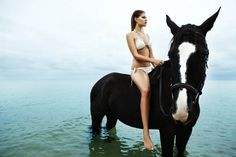 http://www.pegasebuzz.com/leblog | Horse in Fashion with Juliana Jorge by Jaclyn Adams for Fashiongonerogue
