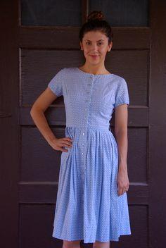 Vintage 1950s Betty Barclay Dress XS S.  56.00 4d49e4c8bb861