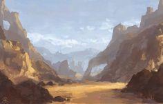 desert by Dreamin-Lea