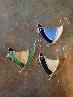 Chicken sun catchers made for Gifts.
