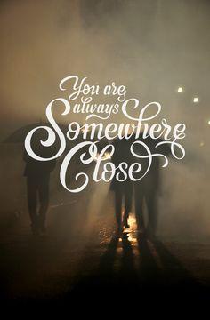 #youarealwayssomwhereclose #lifehouse #lettering #byAdhara #bySantaMonica