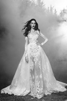 WedLuxe – Zuhair Murad – Fall 2016 Bridal |  Follow @WedLuxe for more wedding inspiration!