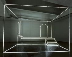 Neon Light Installations by Massimo Uberti | http://www.yellowtrace.com.au/2013/11/20/massimo-uberti-neon-light-installations/