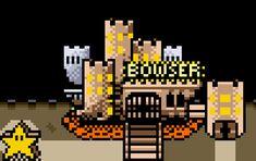 Super Mario World Bowser Castle