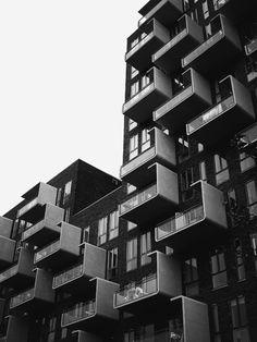 cityscapes, art invoked balconies