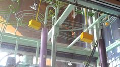 Rube Goldberg Machine at High Tech Museum