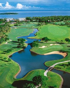 Spectacular Golf in Fiji, and to think I didn't play while we were there. She better realize how much I love her!