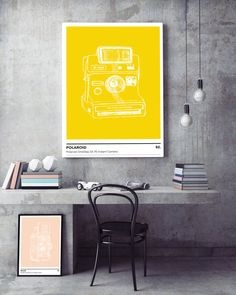 You are searching for the perfect decoration touch for your home or office ? This Printable Art is a modern downloadable print featuring a hand sketched photo camera (Polaroid SX-70 Instant Camera) on a light grey background. Perfect for anybody passionate about photography, this poster is part of a numbered collection that we are creating.