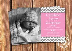 Baby Girl Birth Announcements