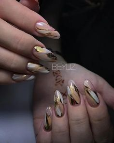 Ways to Style Up Your Almond Nails - nail designs Glam Nails, Stiletto Nails, Beauty Nails, Cute Nails, Pretty Nails, Pink Nails, Beautiful Nail Art, Gorgeous Nails, Latest Nail Art