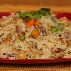 Semiya (Vermicilli) Upma on http://cooksjoy.com/blog
