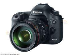 CANON reflex numérique EOS 5D mark III + 24-105 mm