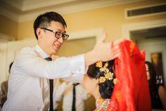 Lu and Kat's Stylish Wedding in Qingdao, China