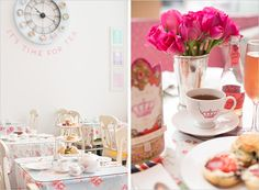 Host an afternoon tea party - that lasts into the night (with Iced Tea-Ritas!) #SauzaSparkling @Sauza® Tequila