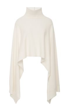 Turtleneck Cape Sweater by ROSETTA GETTY Now Available on Moda Operandi