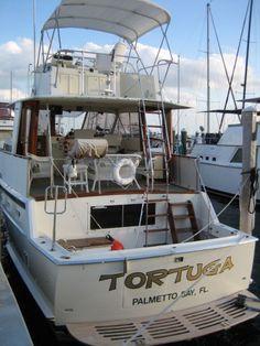 hatteras yacht fisherman 48 - Google Search