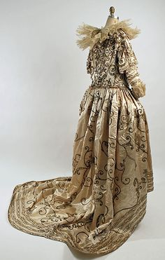 Fancy dress costume Paul Poiret  (French, Paris 1879–1944 Paris) Date: 20th century Culture: French Medium: silk, metallic, synthetic gems Dimensions: (a) Length at CB: 84 in. (213.4 cm) (b) Length at CF: 19 in. (48.3 cm) Credit Line: Gift of Mrs. Robert L. Dodge, 1951