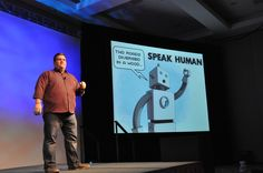 """Video of C.C. Chapman giving the opening keynote speech at TBEX 12 - It was called """"Amazing Things Will Happen When Your Content Rules."""""""