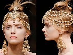Alexander Mcqueen Head peices Amazing <3