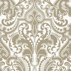 gwynne damask - gunmetal wallpaper | Ralph Lauren