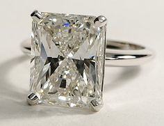 oh my goodness - a little much huh? 7.08ct. Radiant Cut just $95438.00