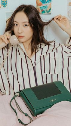 Krystal for Paul's Boutique Jessica & Krystal, Krystal Jung, Jessica Jung, Uzzlang Girl, My Baby Girl, Baby Girls, Website Instagram, Paul's Boutique, Sulli