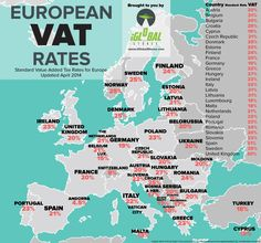 European VAT Rates - Value Added Tax for Europe